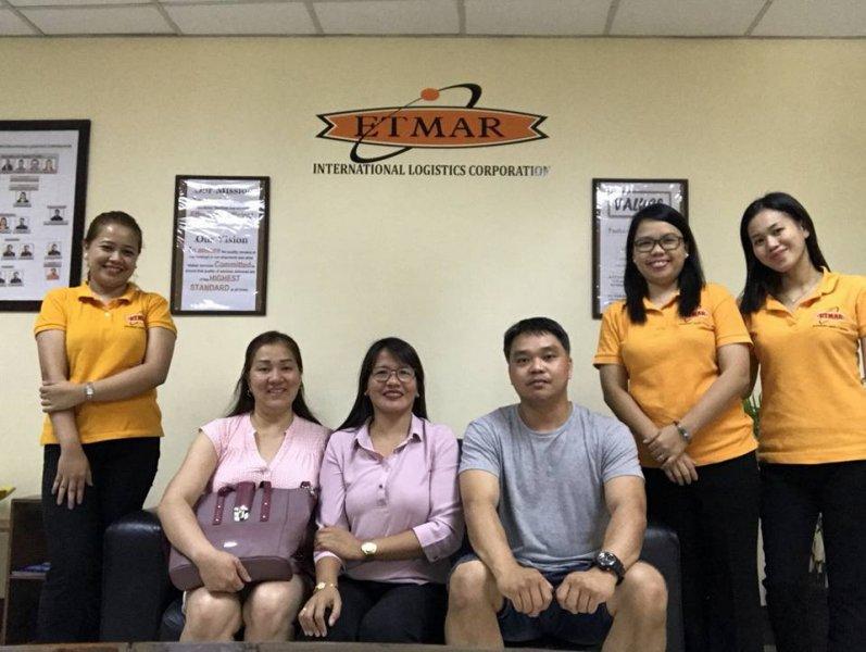 Global Box Shipments and ETMAR staff