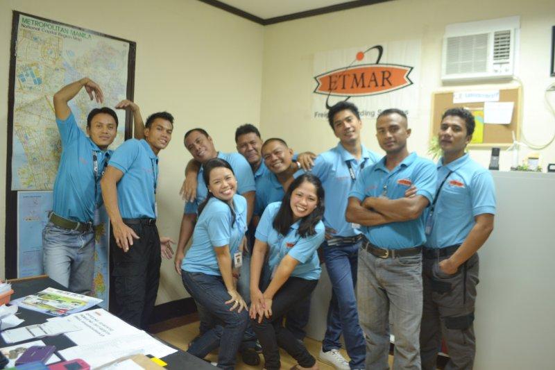 ETMAR Staff in Quezon City Philippines