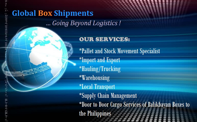 Global Box Shipments Line of Services