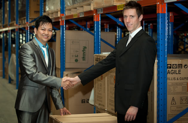 Global Box Shipments Warehouse