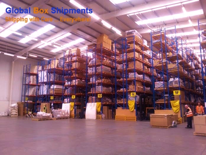 Global Box Shipments  Warehouse