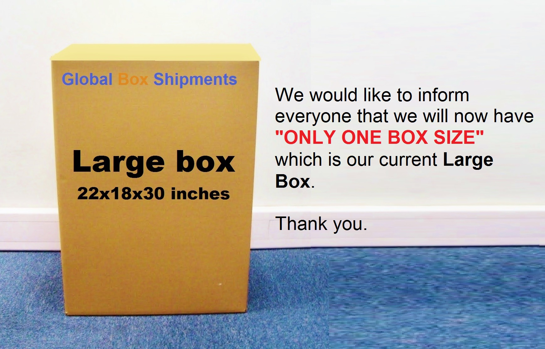 Balikbayan Boxes come in many sizes, and most companies use established common sizes for convenience. While technically you can use any box of any size, it is beneficial of you to use common balikbayan box sizes to take advantage of carrier pricing.